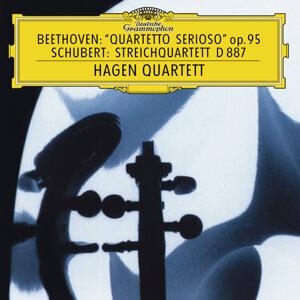 "Beethoven: String Quartet No.11 In F Minor, Op.95 ""Serioso""  / Schubert: String Quartet In G, D. 887"
