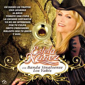 Estela Nuñez Con Banda Sinaloense los Yakis