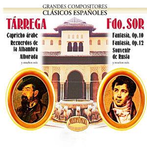 Tárrega, Sor, Grandes Compositores Clásicos Españoles