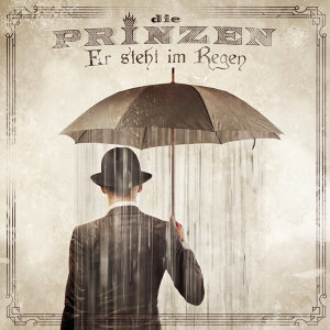 Er steht im Regen