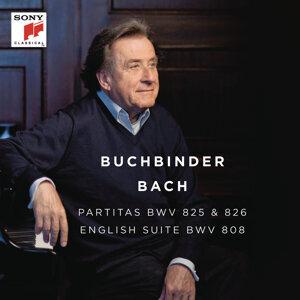 Bach: Partitas, BWV 825 & 826 - English Suite, BWV 808