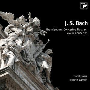 J. S. Bach: Brandenburgische Konzerte Nr. 1-3, Violinkonzerte