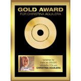 Gold Award: Christina Aguilera