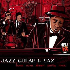 Jazz Guitar & Sax Bossa Nova Dinner Party Music