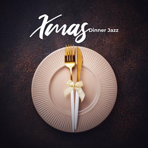 Xmas Dinner Jazz - Sax & Guitar in Background, Gospel Rhythms for Family Time