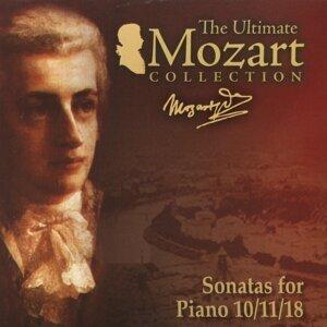 Mozart: Piano Sonatas Nos. 10 - 11 & 18