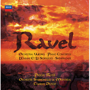 Ravel: Orchestral Works - 4 CDs