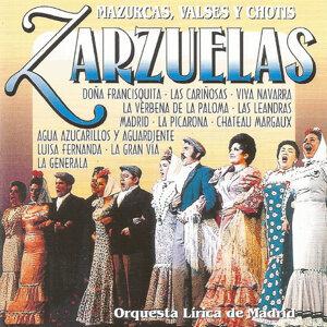 Zarzuelas - Mazurcas, valses y chotis