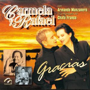 Carmela y Rafael Con Armando Manzanero y la Rondalla del Chato Franco