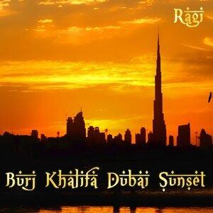 Burj Khalifa Dubai Sunset