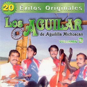 20 Exitos Originales - Los Aguilar de la Aguila Michoacan - Vol. 3