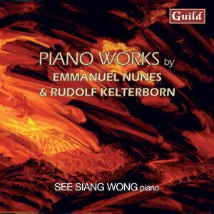 Nunes: Litanies Du Feu Et De La Mer & Kelterborn: Piano Pieces 1-13