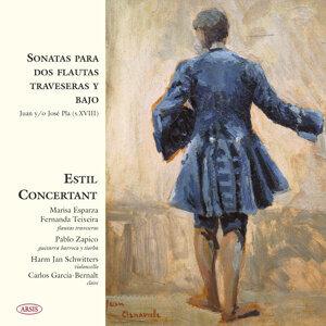Sonatas para Dos Flautas Traveseras y Bajo