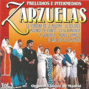 Zarzuelas - Vol. 3 - Preludios e intermedios