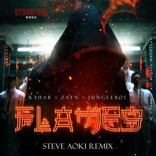 Flames (with ZAYN) - Steve Aoki Remix