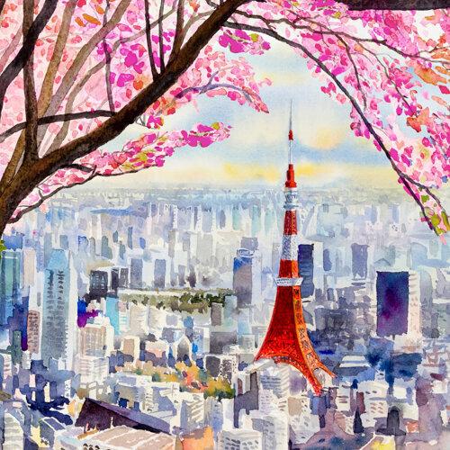 Japan Ambient Sounds (A Journey Through Tokyo)