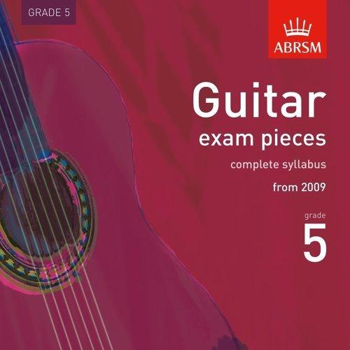 Guitar Exam Pieces from 2009, ABRSM Grade 5