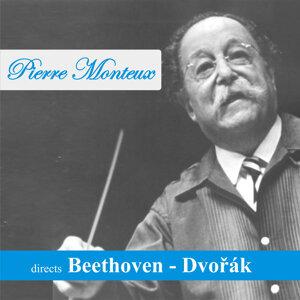 Pierre Monteux directs Beethoven - Dvořák