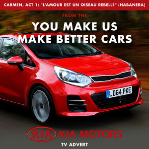 "Carmen, Act 1: ""L'amour est un oiseau Rebelle"" Habanera (From The ""You Make Us Make Better Cars - Kia Motors Uk"" T.V. Advert)"
