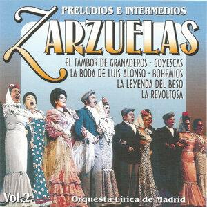 Zarzuelas - Vol. 2 - Preludios e intermedios