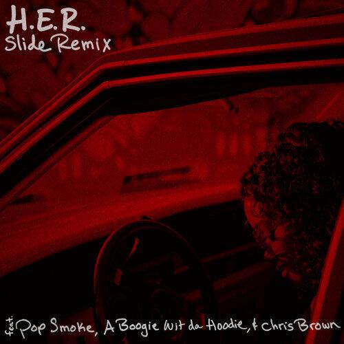 Slide (Remix) (feat. Pop Smoke, A Boogie Wit da Hoodie & Chris Brown) - Remix