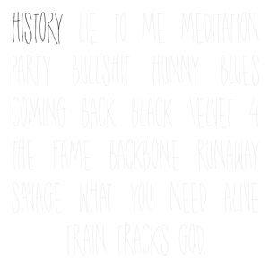 History (feat. Mikki)