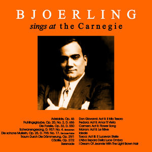 Bjoerling Sings at the Carnegie
