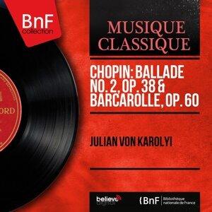 Chopin: Ballade No. 2, Op. 38 & Barcarolle, Op. 60 - Mono Version