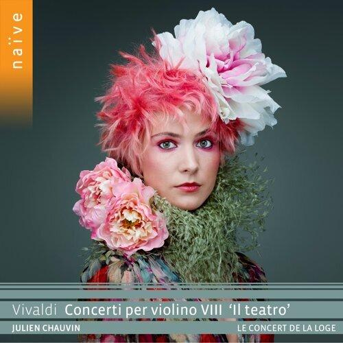 """VIVALDI Concerti per violino VIII """"Il teatro"""""""