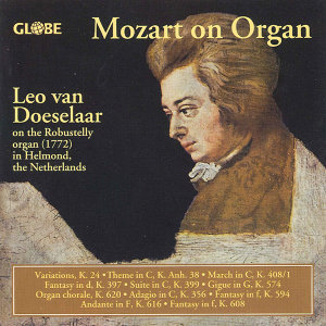 Mozart: Oeuvres Pour Orgue