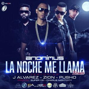 La Noche Me Llama (Remix) [feat. J Alvarez, Zion & Pusho]