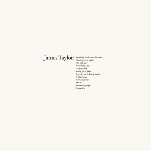 James Taylor's Greatest Hits - 2019 Remaster