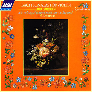 Bach: Sonatas for Violin and Continuo; and works by Schmelzer, Schenk, Böhm and Erlebach