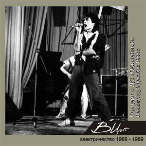 """Концерт во Дворце спорта """"Юбилейный"""" (2 декабря 1988 г.) - Live"""