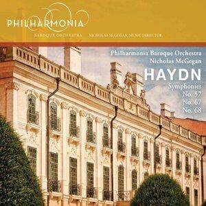 Haydn: Symphonies Nos. 57, 67, 68