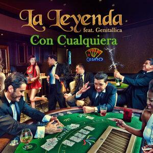 Con Cualquiera (feat. Genitallica) - Single