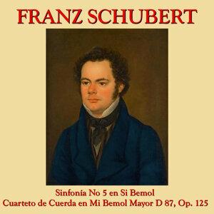 Franz Schubert Sinfonía No. 5 y Cuarteto de Cuerda en Mi Bemol
