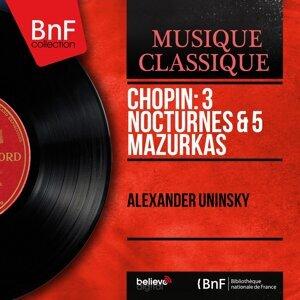 Chopin: 3 Nocturnes & 5 Mazurkas - Mono Version