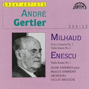 Mihaud, Enescu: Violin Concerto No. 2, Violin Sonata No. 2 - Violin Sonata No. 3