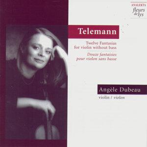 Twelve Fantasias for Violin Without Bass (Douze Fantaisies Pour Violon Sans Basse) (Telemann)