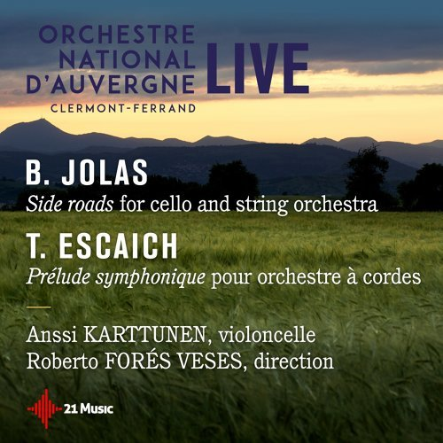 Betsy Jolas, Side Roads, Thierry Escaich: Prélude symphonique