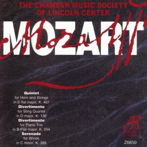 Mozart: Quintet K.407 / Divertimento K.136 / Divertimento K.254 / Serenade K.388