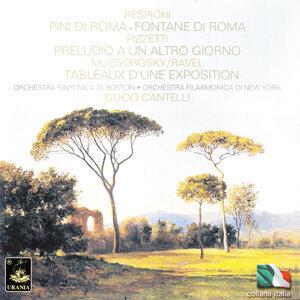 Respighi: Pini Di Roma & Fontane Di Roma - Pizzetti: Preludio a Un Altro Giorno - Mussorgsky: Tableaux D'une Exposition