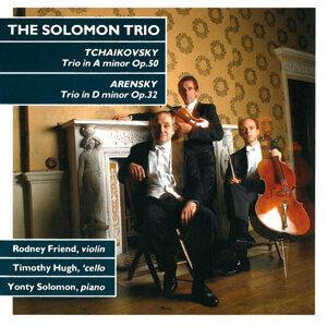 Tchaikovsky: Trio in a Minor - Arensky: Trio in D Minor