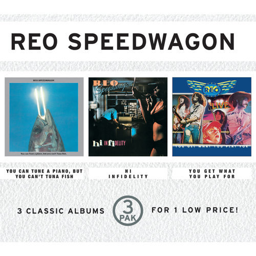 Reo Speedwagon - You Can Tune A Piano, But You Can't Tuna Fish/Hi