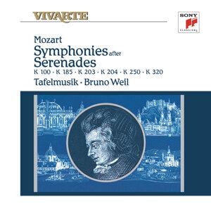 Mozart: Symphonies After Serenades K. 100, K. 185, K. 203, K. 204, K. 250 & K. 320