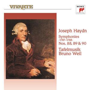 Haydn: Sypmphonies Nos. 88, 89 & 90