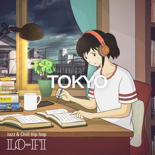 讀書女孩:Tokyo Lo-Fi Jazz & Chill Hip hop beats