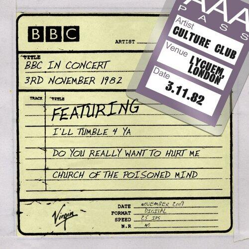 BBC In Concert - 3rd November 1982