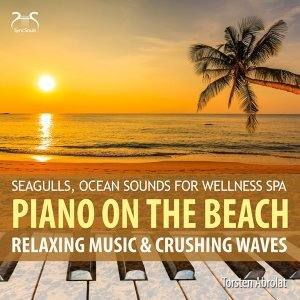 Piano on the Beach - Relaxing Music & Chrushing Waves - Seagulls, Ocean Sounds for Wellness Spa